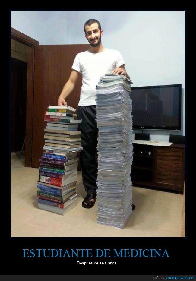apuntes,estudiante,libros,medicina