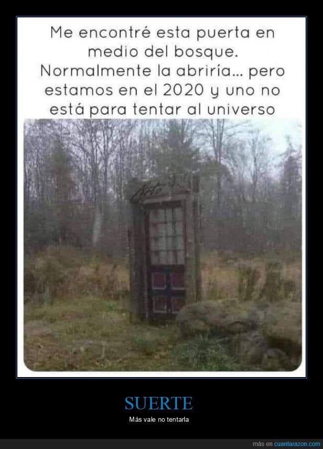 2020,bosque,puerta
