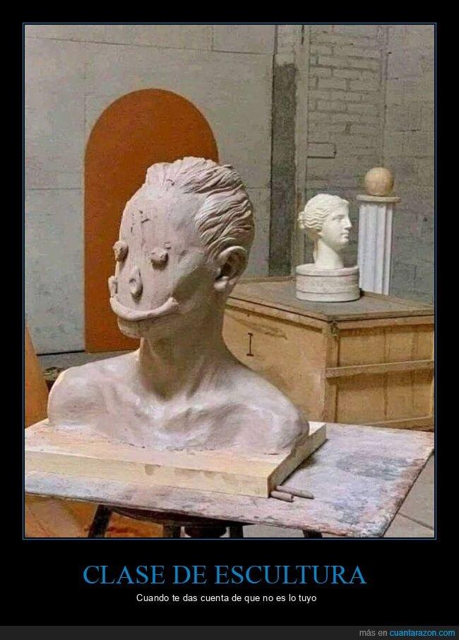 escultura,fails