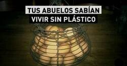 Enlace a Plástico prescindible