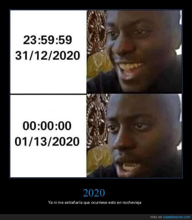 2020,año nuevo