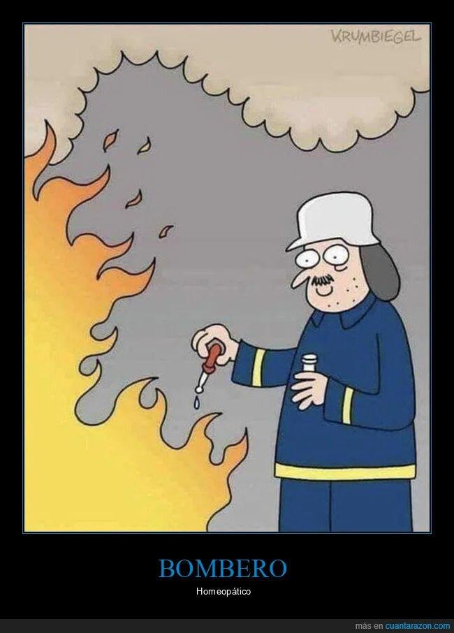 bomberos,homeopatía