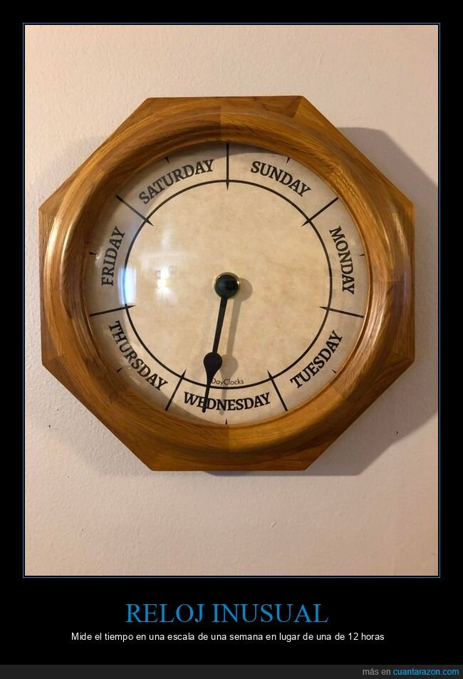 días,reloj,semana