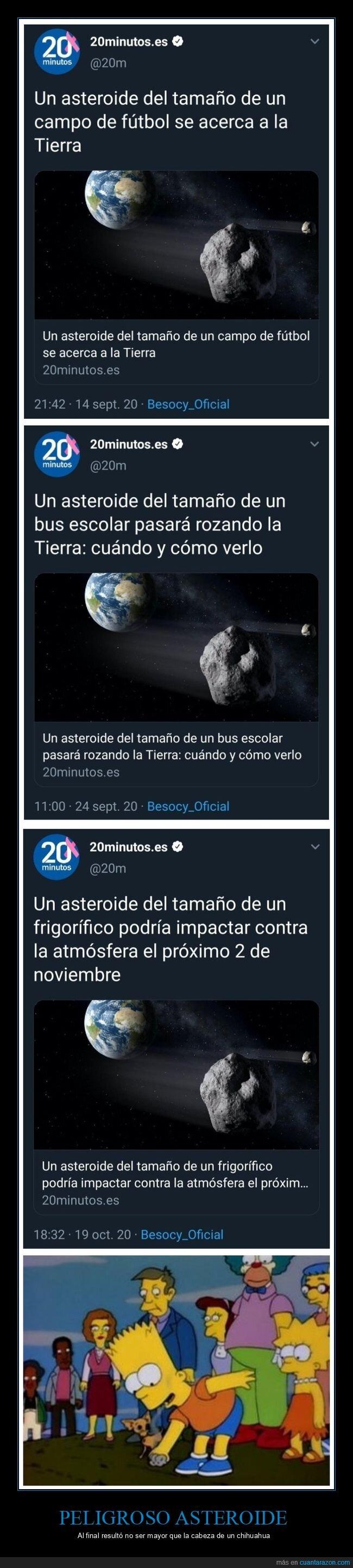asteroide,tamaño,wtf