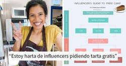 """Enlace a """"Estoy harta de influencers"""": Esta pastelera profesional encuentra un modo genial de librarse de los influencers"""