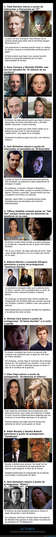 actores,cine,papeles,películas de terror