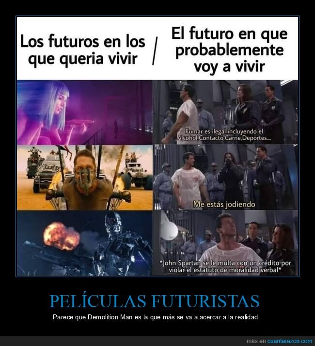 demolition man,futuro,películas