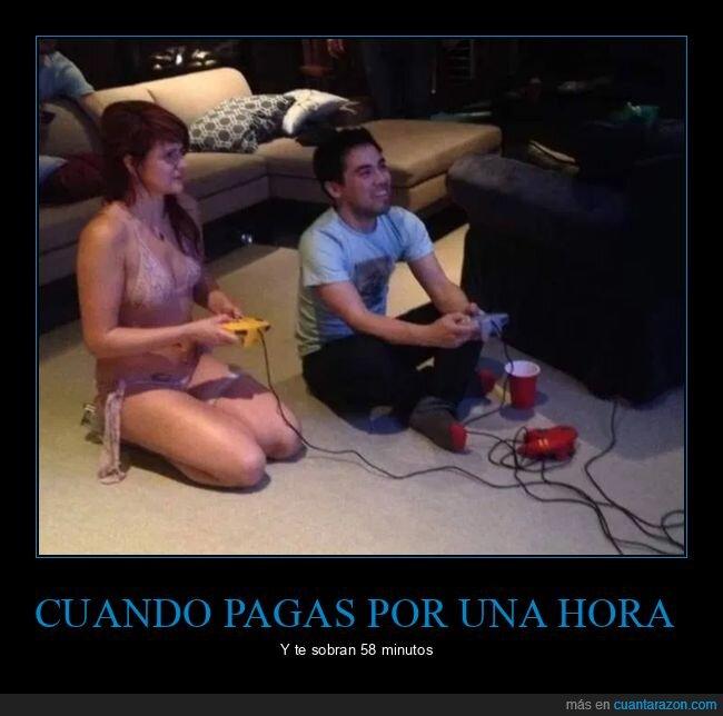 jugando,pagar,sobrar,tiempo,videojuegos