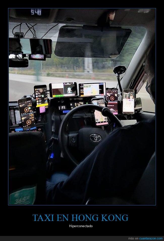 hong kong,móviles,taxi