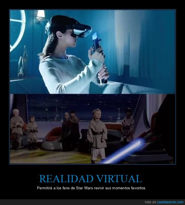 niños,realidad virtual,revivir,star wars