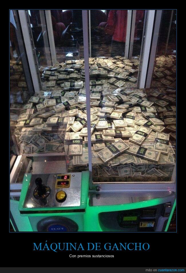 billetes,dinero,máquina de gancho