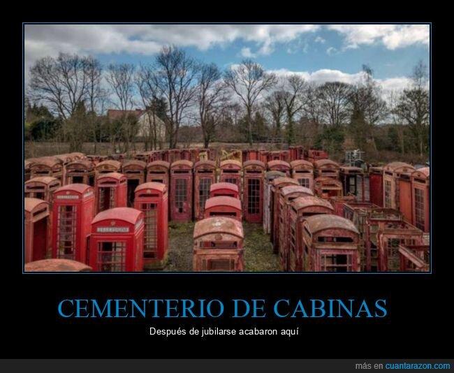 cabinas telefónicas,cementerio