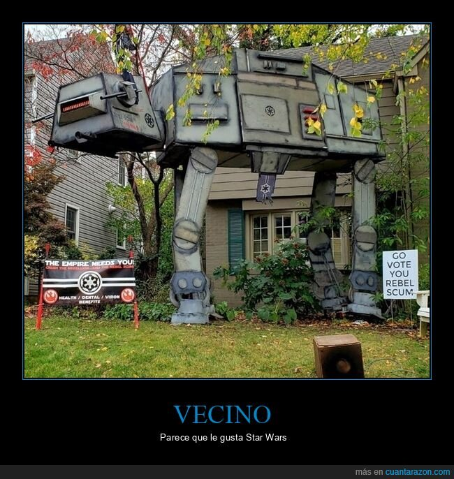 at-at,star wars,vecino