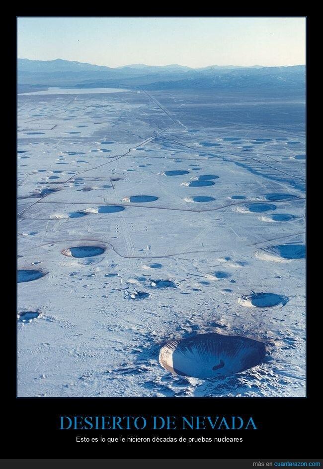 desierto,nevada,pruebas nucleares
