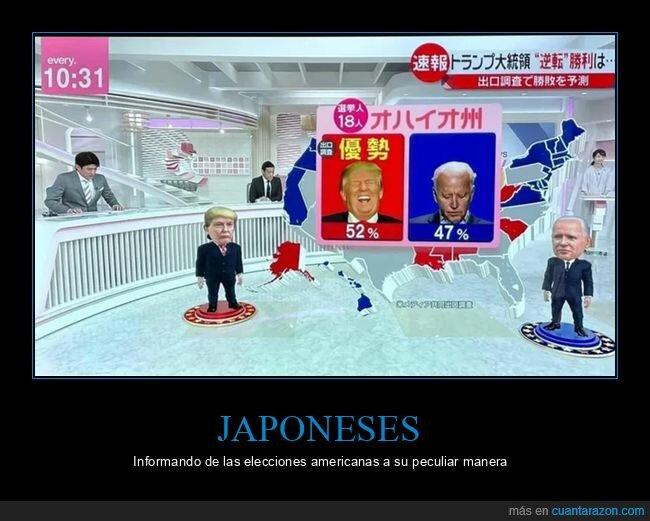 eeuu,elecciones,japos,políticos,wtf