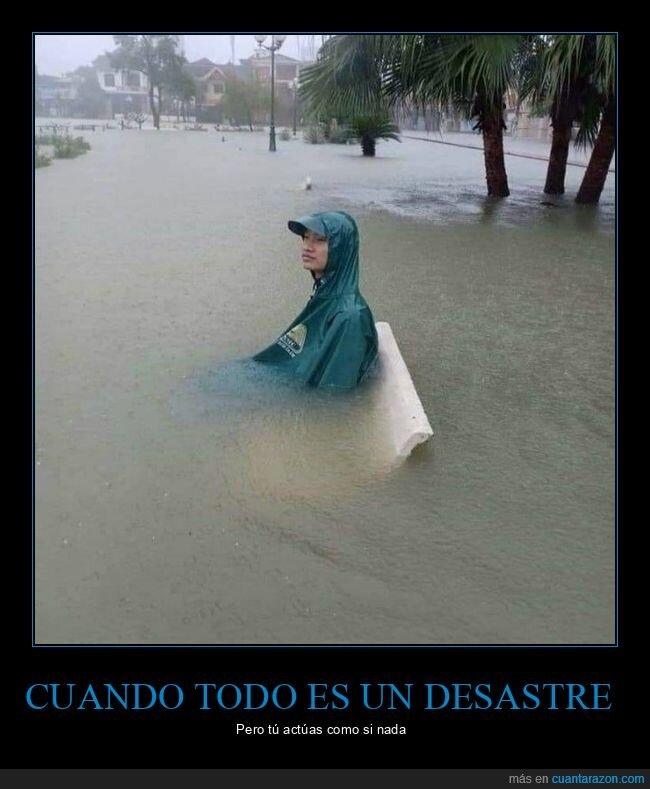 inundación,sentado,wtf