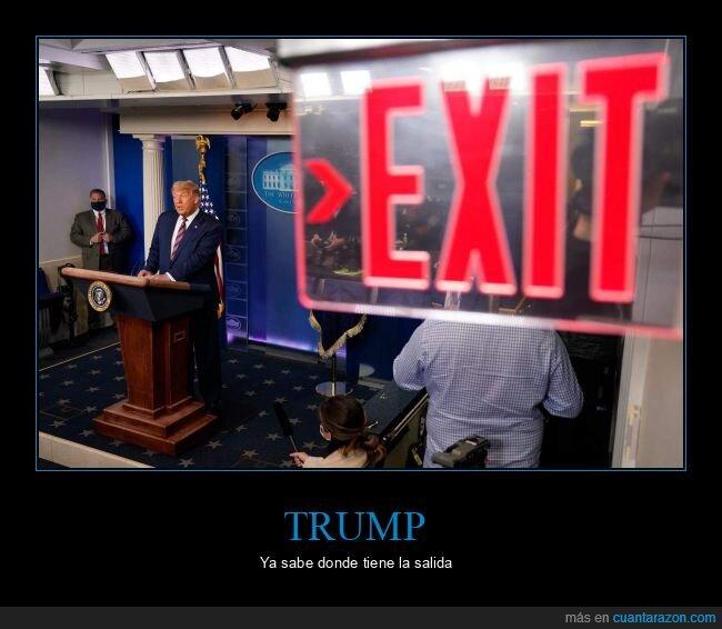 donald trump,políticos,salida