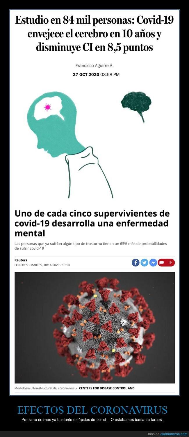 cerebro,ci,coronavirus,enfermedad mental,envejecer