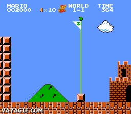 Enlace a Mario, que tanta seta engorda