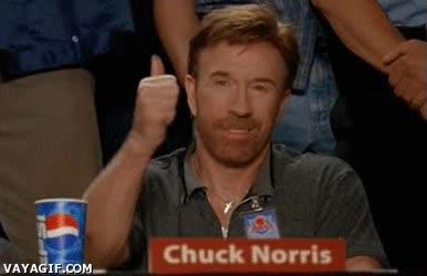 Enlace a Aprobado por Chuck Norris