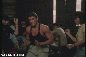 Enlace a Dancing Van Damme