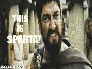 Enlace a Épico donde los haya ¡¡THIS IS SPARTA!!