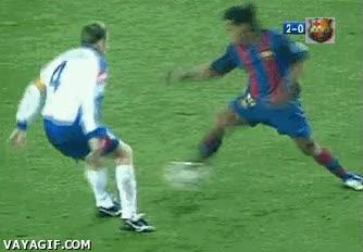 Enlace a Elástica Ronaldinho