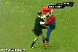 Enlace a Un Mario salvaje apareció