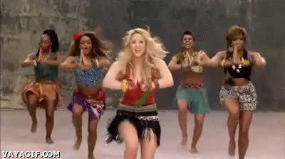 Enlace a Shakira Waka Waka