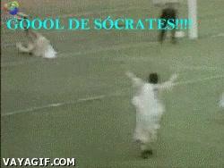 Enlace a Gol de Sócrates
