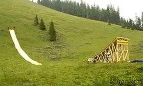 Enlace a Trampolín de la muerte con salto incluido