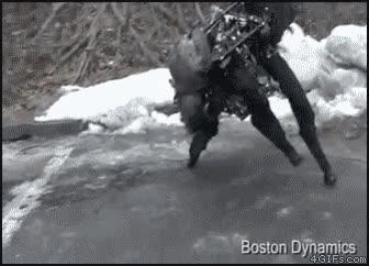 Enlace a Este robot no se cae ni en el hielo