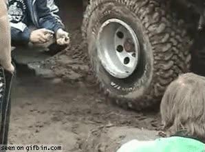 Enlace a Hinchar una rueda con un mechero y un spray