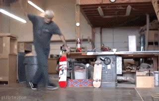 Enlace a Subirse al skate