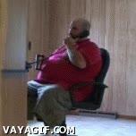 Enlace a Que la silla no da pa' tanto, hombre