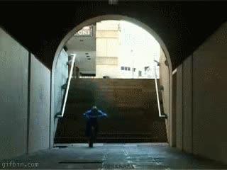 Enlace a Bajando escaleras de forma rápida