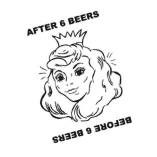 Enlace a Antes y después de 6 cervezas