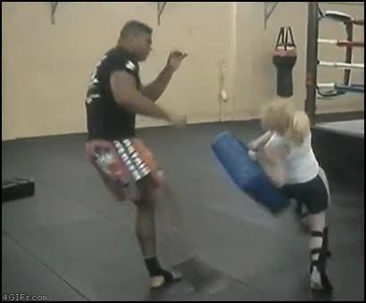 Enlace a ¿No había un sparring más pequeño?