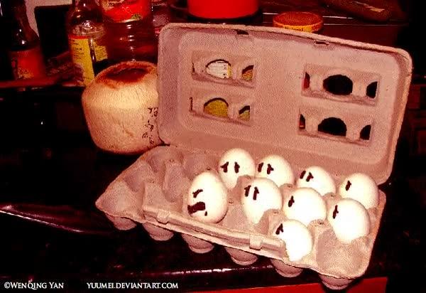 Enlace a Egg suicide