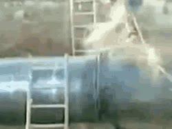 Enlace a Cortando un tubo