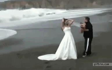 Enlace a Bonita foto de boda