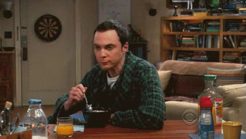 Enlace a Cereal guy, Sheldon