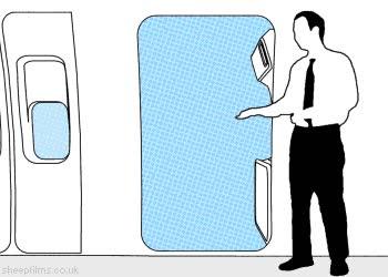 Enlace a La puerta de avión