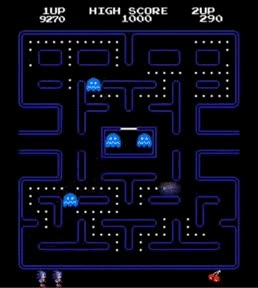 Enlace a Pac-man, versión Sonic