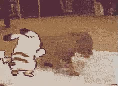 Enlace a Pikachu attacks!