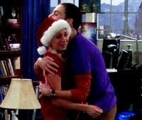 Enlace a Sheldon y sus abrazos incómodos