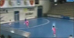 Enlace a Tijera en fútbol sala