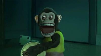 Enlace a Mono rabioso toca-platillos