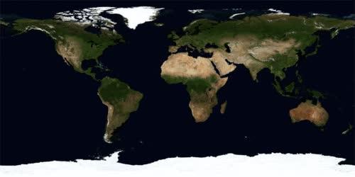 Enlace a La Tierra a lo largo del año