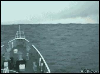 Enlace a Tsunami en el interior marino